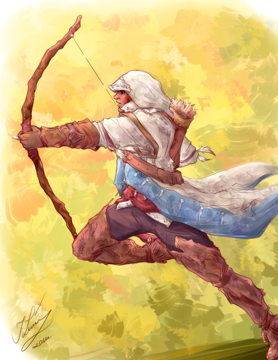 Connor Kenway by sarumanka