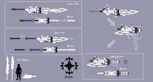 Unicornio Weapon Sheet (Sketch)