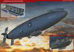 Lancaster Airship Bomber