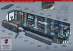 Lancaster Bomber Interior