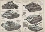 WW2 Tank Sketches