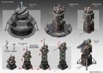 PICS:TD Machine Gun Tower Concepts