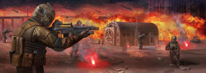 TRSF Strike Infantry Insertion by Magnum117