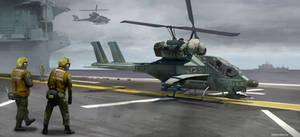 'Wasp' Synchcopter Gunship