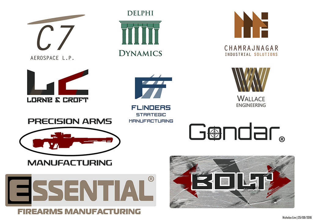 TRSF Hardware Company Fictional Logos by Magnum117 on DeviantArt
