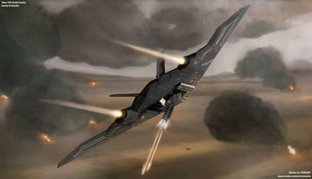 'Raven' Gunship Strafing Run by Magnum117
