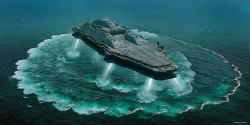 Carrier Deploying 02 by Magnum117