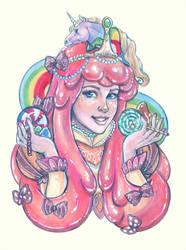 Femenagerie: Princess Bubblegum (Candy III) by DoodleLust