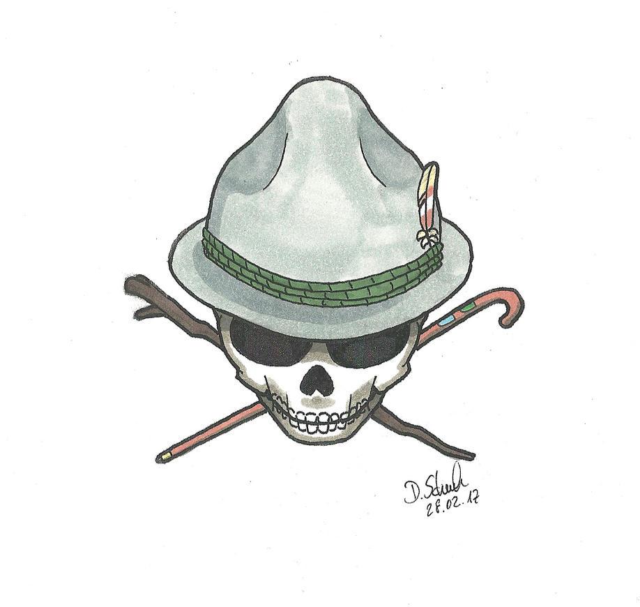 Wanderlust Skull by Schmeh1911