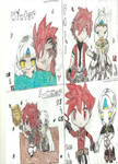 Elsword drawing Elsword and EVE 3 seasons 3 job ch