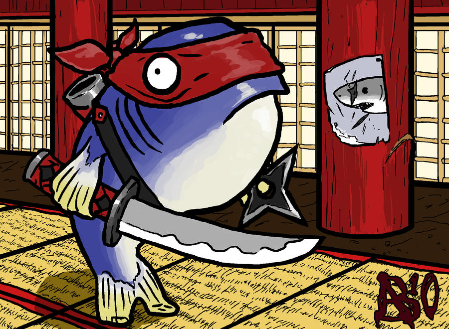 Ninja Tuna by CaveMann on DeviantArt