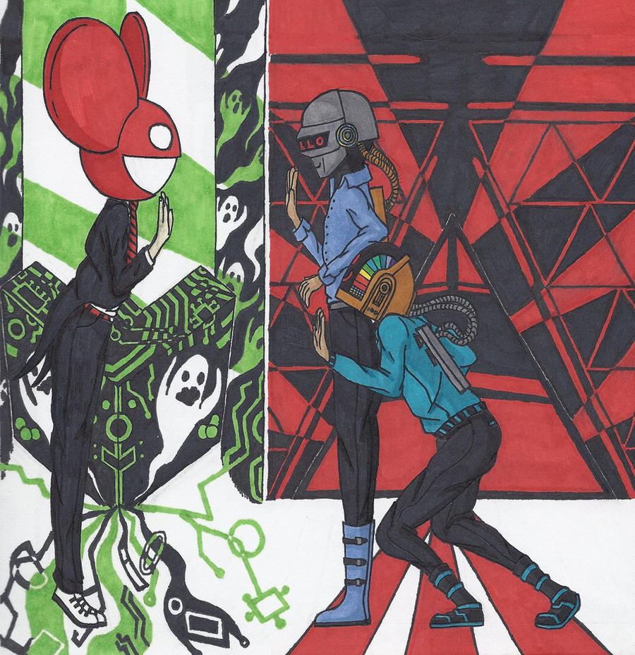 deadmau5 Meets Daft Punk by Kyata