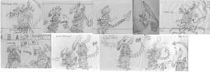 Aliens age 8 by holyguyver