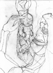 The birth of Pain - sketch