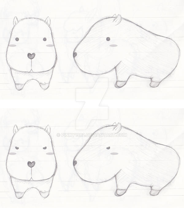 Capybara by pinky1982