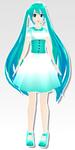 MMD - Dress zeze miku by SuminoChan