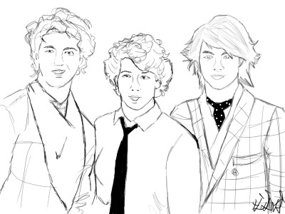 Jonas Brothers by elementfire1