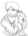 Roy Mustang Sketch