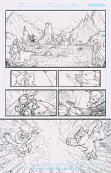 Comic Kyanikin page by LABYLABY
