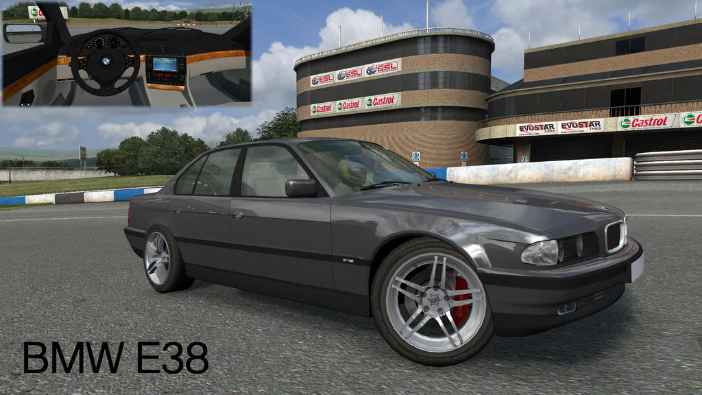 BMW E38 730i 750 M Live For Speed By DPDE