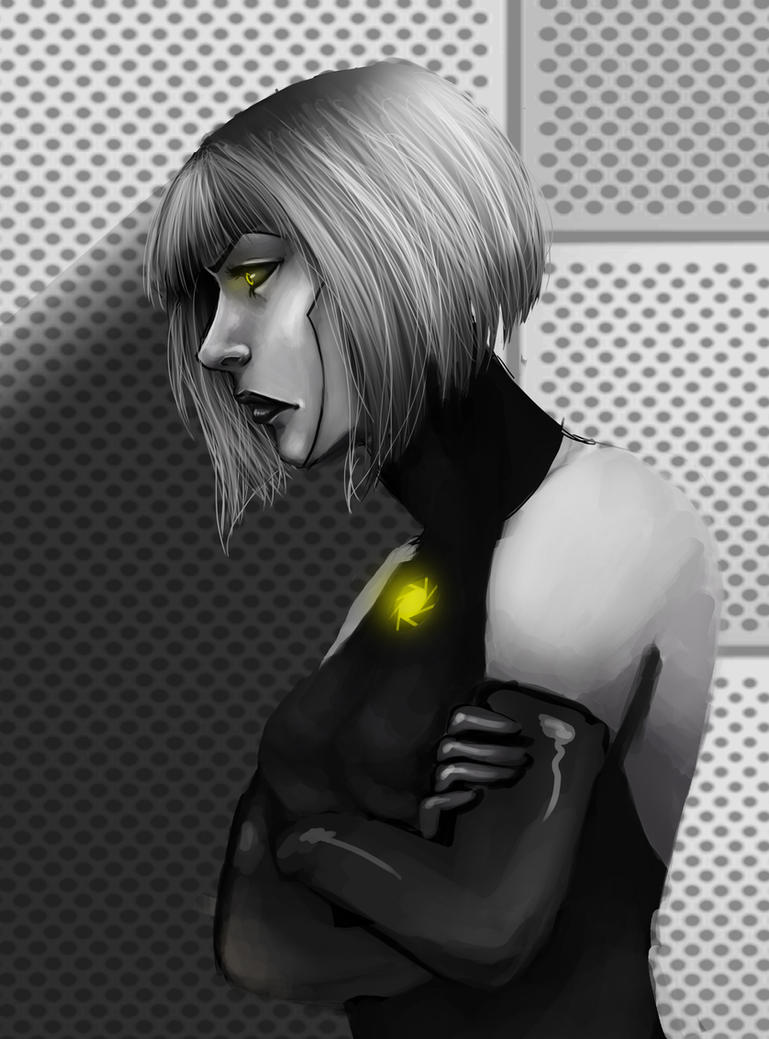 GLaDOS Piece by DestinyJade