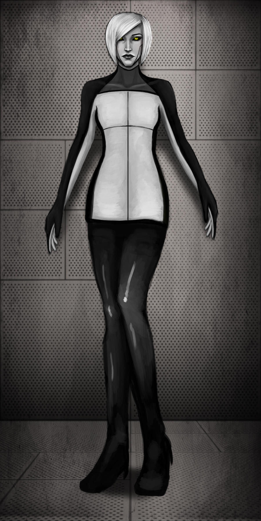 GLaDOS Design v1 by DestinyJade
