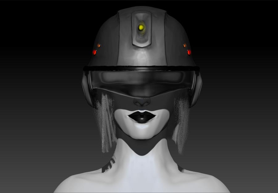 Sneak Peek of GLaDOS Model by DestinyJade
