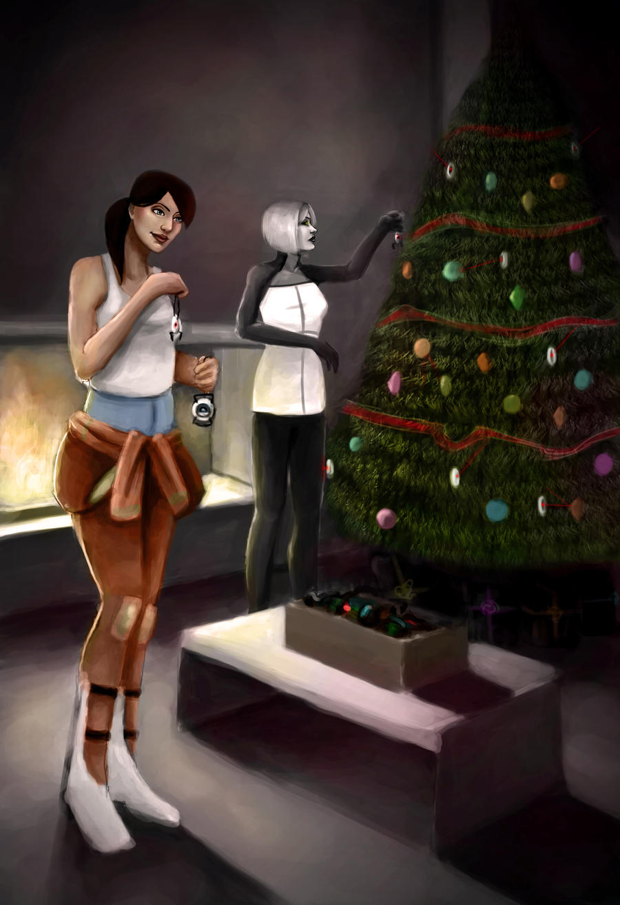 Portal Secret Santa by DestinyJade
