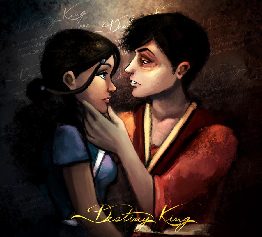 Zutara- Zuko and Katara by DestinyJade