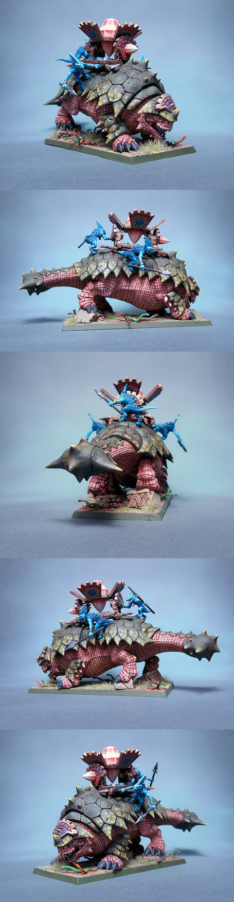 Lizardmen Bastiladon by Graveus