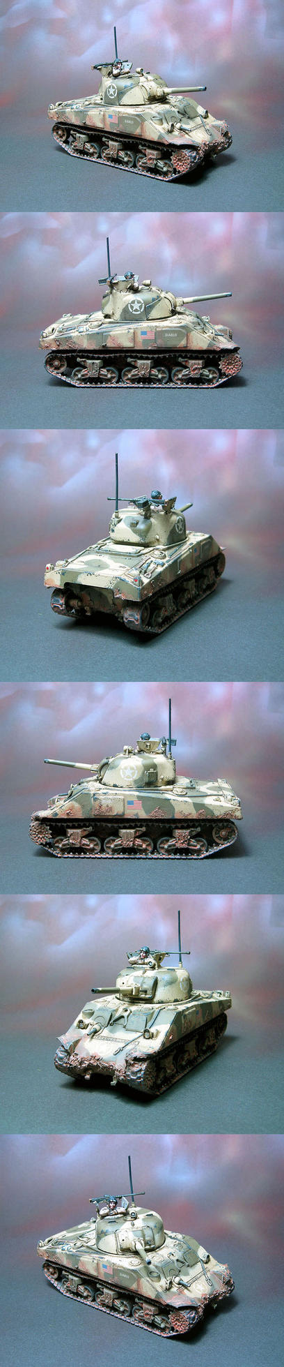 Sherman M4A3 small by Graveus