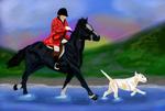 The Harpley Hunt - St George's Day Meet by CapNRCubey