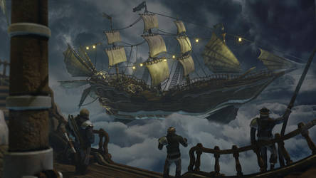 The Stormriders: steampunk pirates