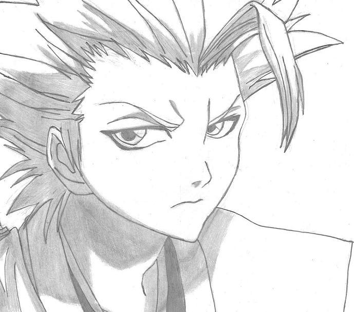 Yachiru Bleach Drawing By Bay1bee1girl On DeviantArt Anime