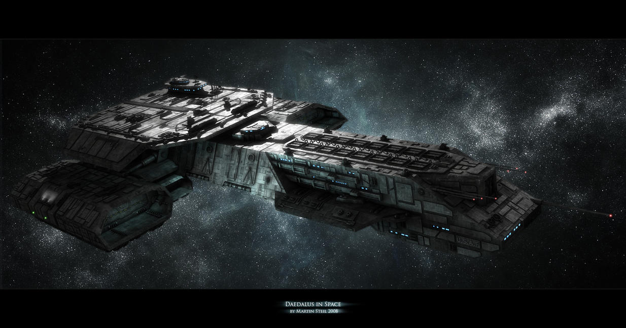 Daedalus in space by SGA-Maddin