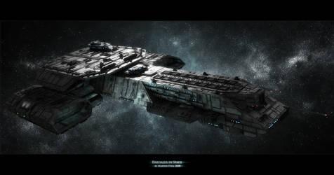 Daedalus in space by SGA-Maddin