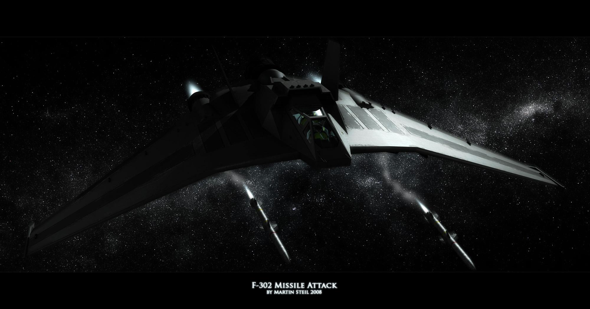 F-302 Missile attack by SGA-Maddin