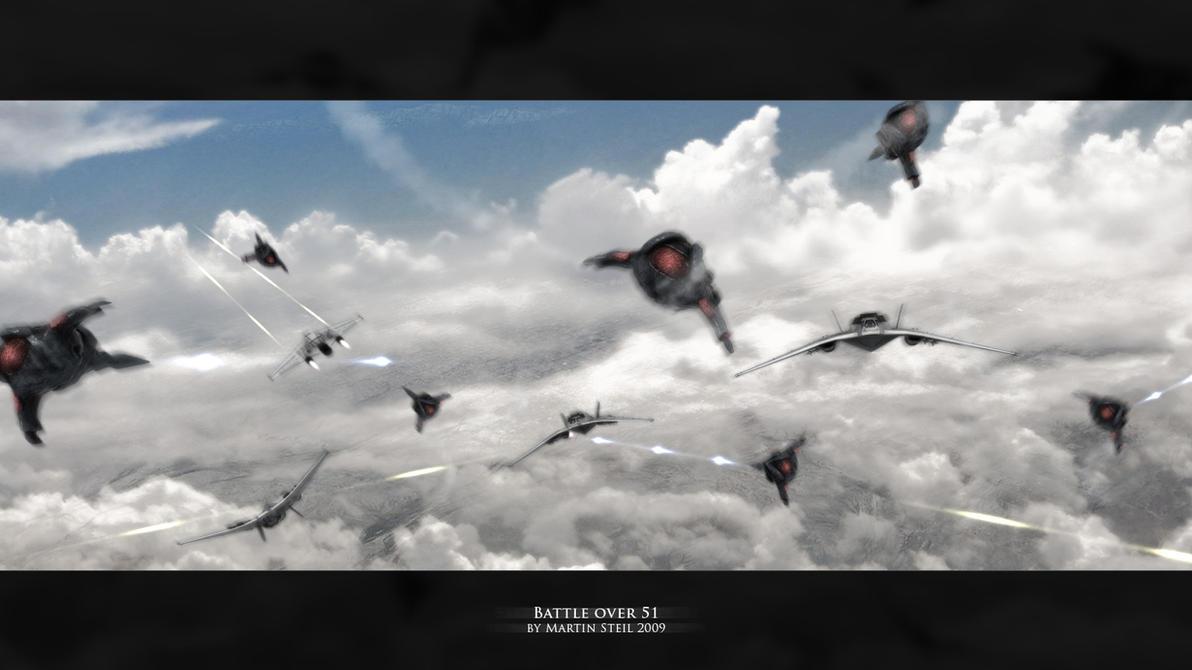 Battle over 51 by SGA-Maddin
