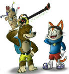 Banjo, BLiNX, and Vince