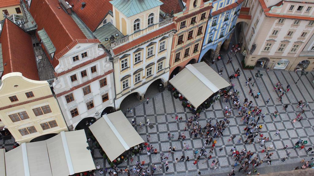 People in Prague by Lorenaenglish