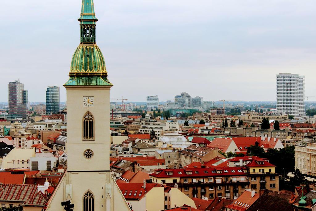 View of Bratislava by Lorenaenglish