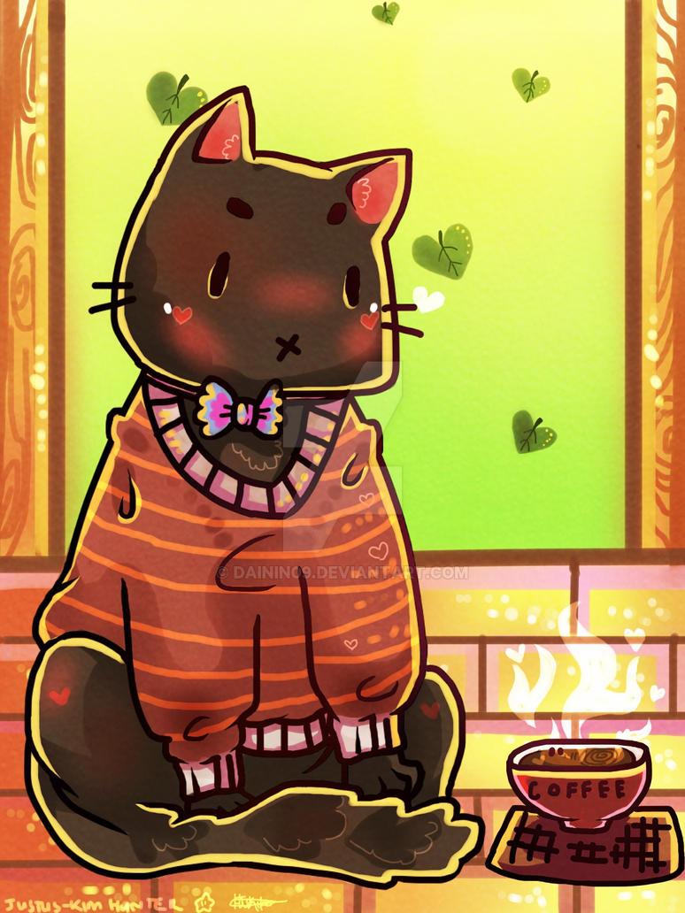 Sweater Cat by dainin09