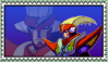 Red Fan Stamp by ZeroFangirl-Mu