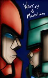 WarCry and Maelstrom by ZeroFangirl-Mu