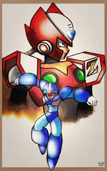 X and Zero - Our Heroes by ZeroFangirl-Mu