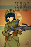 Tae-guk And Her Bren LMG