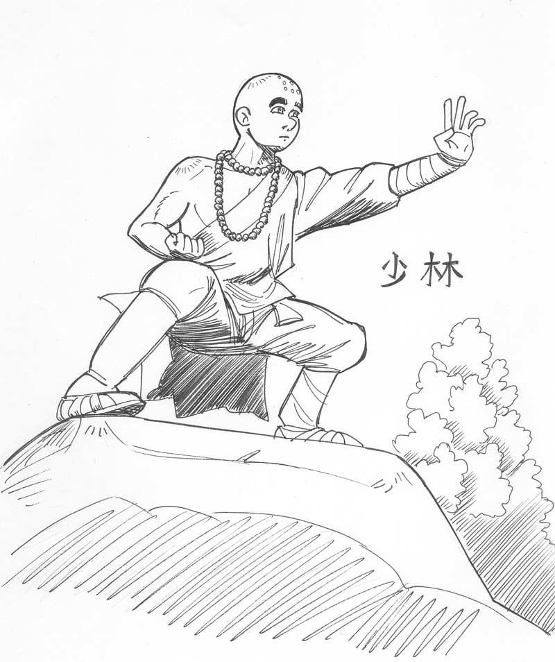 shi ling the shaolin monk by avary on deviantart