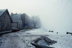 Grudziadz's winter by MissMawkish