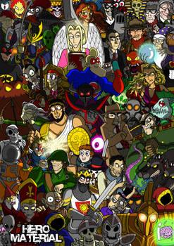 Hero Material Cast