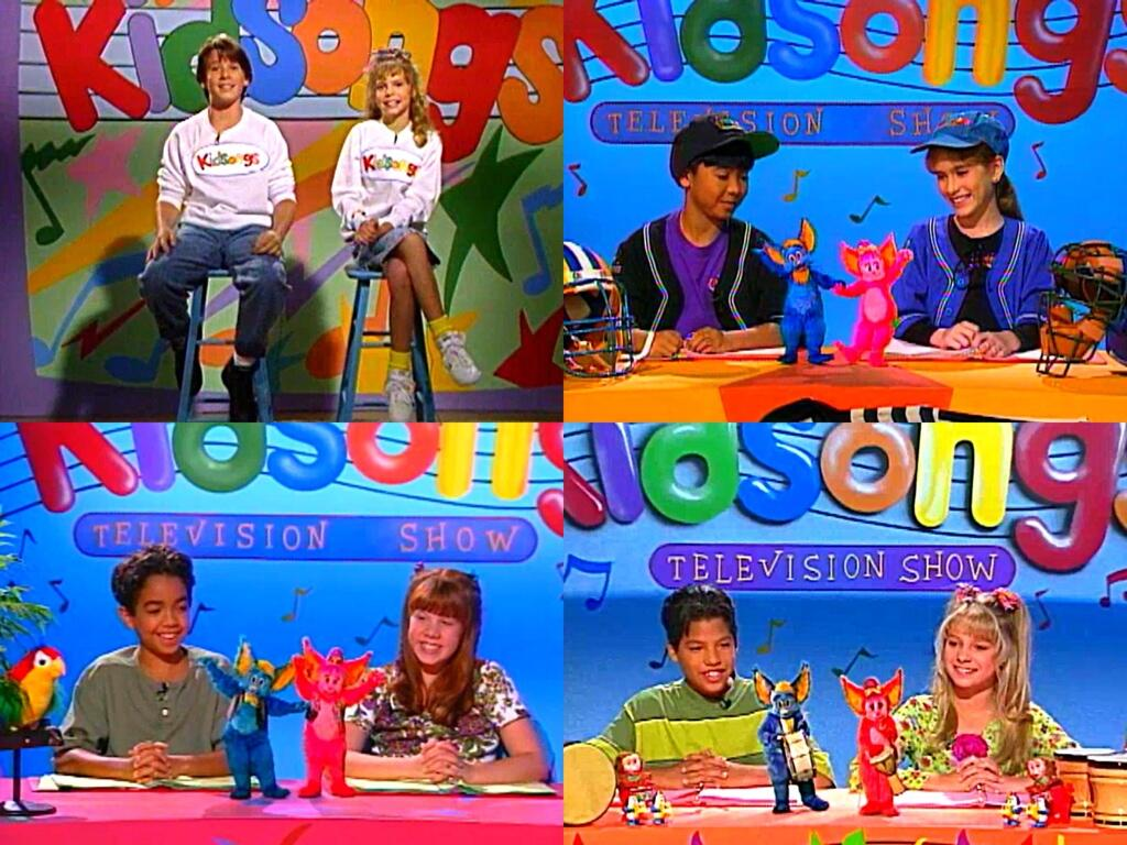 Kidsongs tv show hosts throughout the years by for H2o tv show season 4